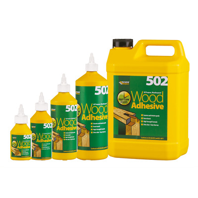 Everbuild 502 All Purpose Weatherproof Wood Adhesive Glue Various Sizes