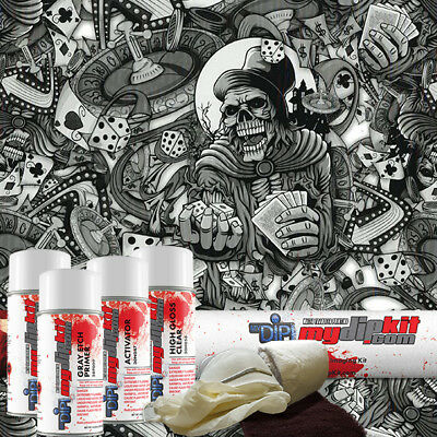 Hydrographic Kit Diy Hydro Dipping Water Transfer Hydro Dip High Roller Dd-923