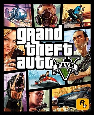 Grand Theft Auto GTA V 5 PC