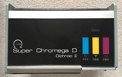 Omega Super Chromega D 4X5 Dichroic II Colour Enlarger Head Plus Bulbs