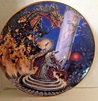 Royal Doulton The Dragon Master by Myles Pinkney Limited Edition Plate
