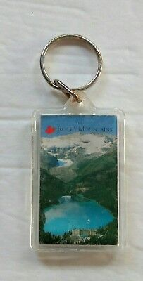 The Rocky Mountains Canada Souvenir Double Sided Key Chain