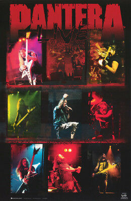 Lot Of 2 Posters: Music: Pantera - Live-  Collage       #7576     Lc4 F