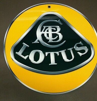 Lotus Cars advertising sign
