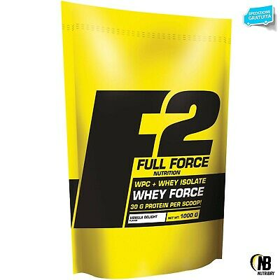 FF FULL FORCE SCITEC Whey Force 1 kg Proteine del siero del Latte Isolate