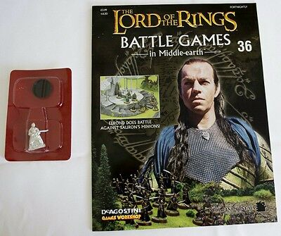 Lord Of The Rings:Battle Games In Middle-Earth–Issue #36 Magazine & miniatures