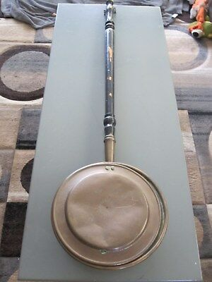 antique copper bed pan/warmer