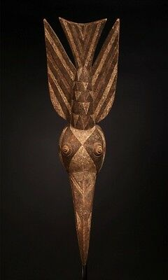 Antique african mask, Bwa mask