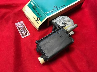 NOS Chevrolet Corvette Power Window Motor Original GM 1965 1968 Camaro Chevelle