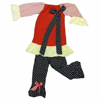 NWT Adorable Girls Boutique Outfit ~ Size 12-18 months ~ Like MisTeeVUs