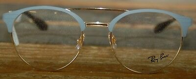 0ae636972d RAY-BAN RB 3545V 2911 Blue Silver New Authentic Eyeglasses 51mm w ...