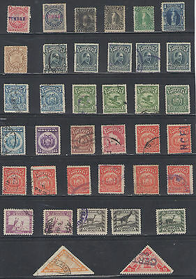 Stamps  Bolivia 37Pc Early Lot