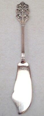 Vintage Th. Marthinsen Sterling Viking Rose Pate Knife #283 Norway Butter Cheese