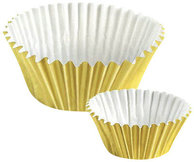 NEW Lakeland 13102 PME Greaseproof Metallic Gold Cupcake Cases Pack of 30