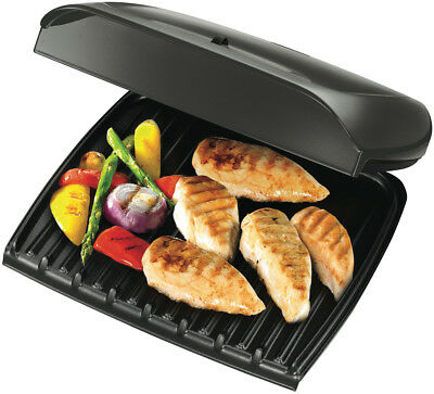 NEW George Foreman GR18891AU Jumbo Grill with Temperature Control