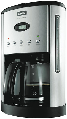 NEW Breville BCM600 12 Cup Drip Filter Coffee Machine