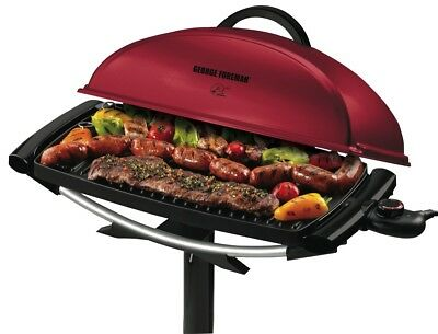NEW George Foreman GGR201RAU Indoor/Outdoor BBQ Grill