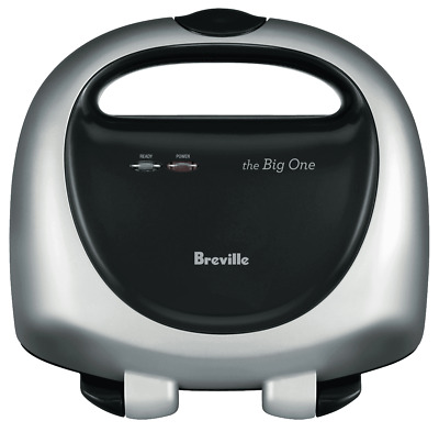 NEW Breville BTS100SIL The Big One Sandwich Press