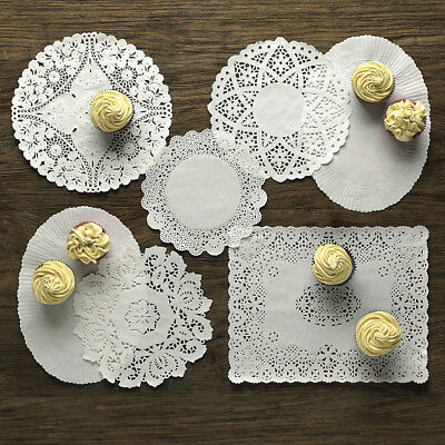NEW Lakeland 70583 Assorted Doilies Set of 120