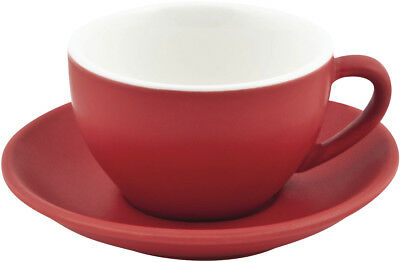 NEW Bevande 978352 Intorno Wide Cappuccino Cup 200ml Rosso