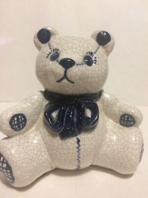 Dedham Pottery - The Potting Shed Teddy Bear