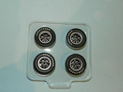 GMP 1/18 Trans Am Wheel And Tyre Set Great for diorama or rebuilds