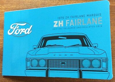 2017 RAM 50 cent UNC Coin Ford classics collection - ZH FAIRLANE