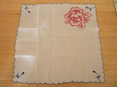 ANTIQUE VINTAGE HANDKERCHIEF HANKY WEDDING BRIDE lace doilie doily