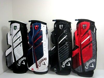 Callaway 2015 Chev Org Golf Cart Bag - 4 Colour Combinations Available