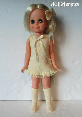 DRESS + BOOTS + BOW for Ideal VELVET Doll Handmade Clothes Fashion NO DOLL d4e