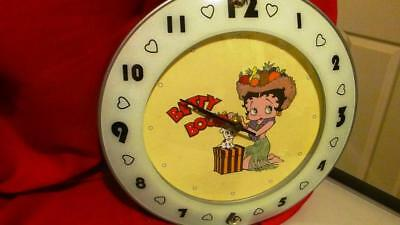Betty Boop Collectable Clock