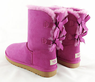 d021218d1ce UGG AUSTRALIA BAILEY Bow Corduroy Genuine Sheepskin Boot Size 5 ...