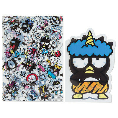 BAD BADTZ MARU Clear File Set (Disguise) SANRIO from Japan SHIPPING FREE