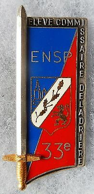 Insigne Police - Obsolete - 33° Promotion - E. N. S. P.