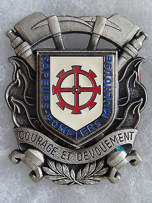 Insigne Pompiers - Obsolete - Mulhouse