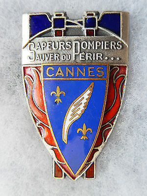 Insigne Pompiers - Obsolete - Cannes