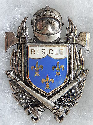 Insigne Pompiers - Obsolete - Riscle