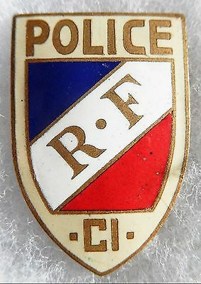 Insigne Police - Obsolete - Cote D'ivoire
