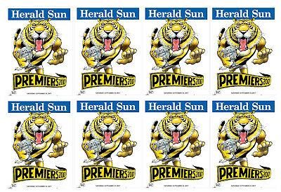 10 X 2017  Richmond Premiers Herald Knight posters Premiership Poster