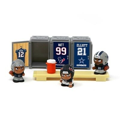 NFL Teenymates Series 6 Player Specific Locker Room sets of 3 players & Lockers
