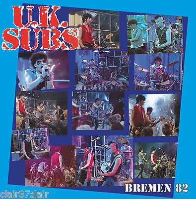 UK SUBS bremen 82 lp limited to 500 only new and in stock
