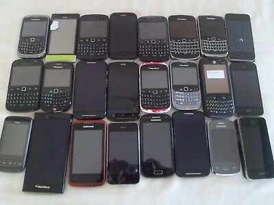 Job Lot 24 x Smartphones/Mobile Phones Faulty/Working