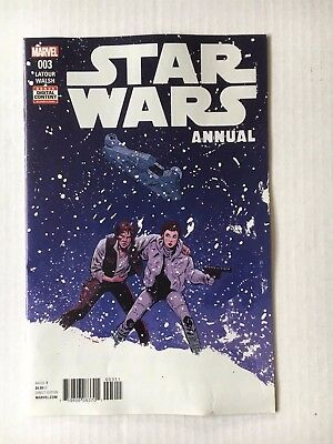Marvel Comics: Star Wars Annual #3 (2017) BN Bagged and Boarded