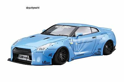 AOSHIMA 1/24 LIBERTYWALK Series No.9 LB WORKS R35 GT-R Ver.1 Plastic Model New