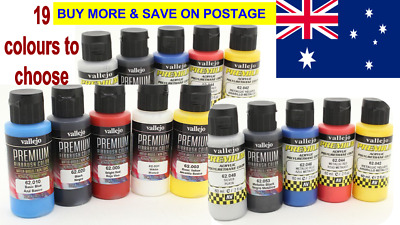 Vallejo Premium 60ml Color Acrylic Paint Water-based non toxic airbrush Hobby
