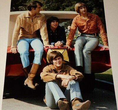 The Monkees / Television Show /  8 X 10  Color  Photo