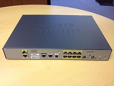 CISCO891-K9 ROUTER cisco 891 512MB/256MB & POWER SUPPLY 45 DAY WARRANTY