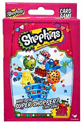 Official Licensed Shopkins 'Who's The Super Shopper?' Top Trumps Cards - New!