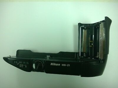 Nikon MB-21 + MS-21 AA Battery Holder Tested for Nikon F4 S Film Camera Body