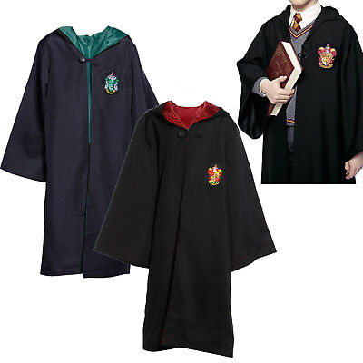 Harry Potter Kostüm Zauberkleid Kinder Jungen Uniform Hermione Cloak Cape